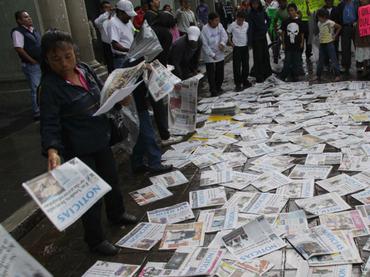 El presidente de la Comisión de Libertad de Prensa de la SIP agregó que 'este nuevo crimen enluta la actividad periodística en México'. NTX / ARCHIVO