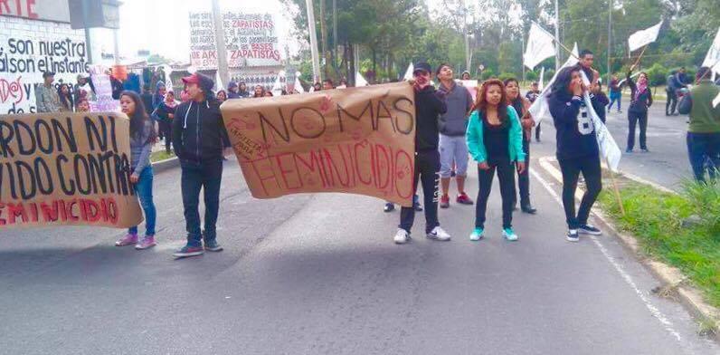"Se movilizan en Iztapalapa para exigir justicia para Joseline, cuyo asesinato pretenden hacer pasar como ""suicidio"""