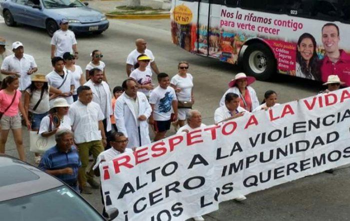 Médicos piden seguridad en Guerrero