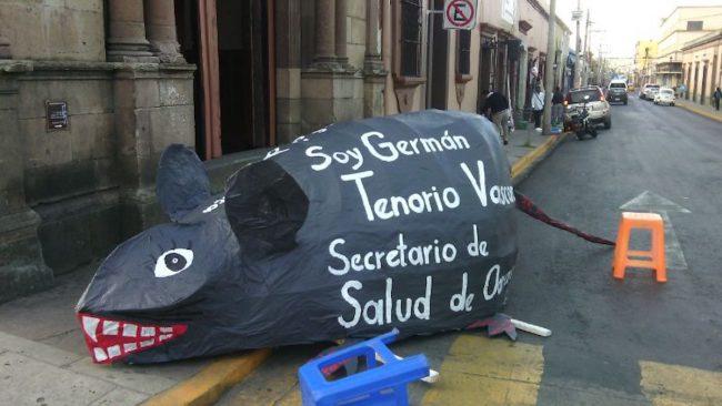 """Salud, """"en terapia intensiva"""" porque Germán Tenorio desvió 2 mil MDP (Oaxaca)"""
