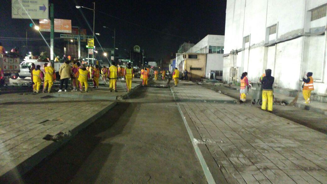 Retiran 438 puestos ambulantes de Tepito