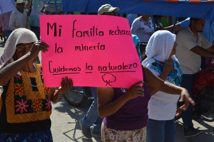Indígenas se oponen a proyectos de muerte como los hidroeléctricos y mineros (Oaxaca)