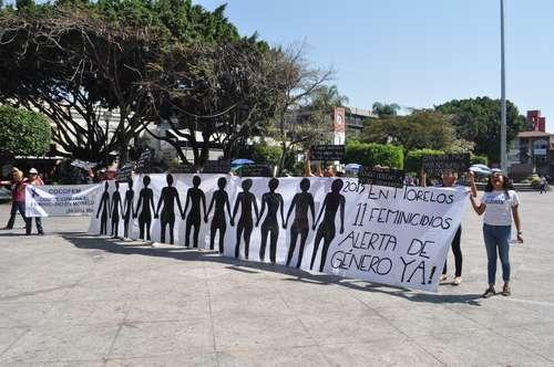 Morelos: 21 feminicidios en lo que va del año