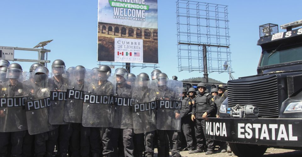 La Suprema Corte avala que el Edomex use la fuerza pública para controlar protestas