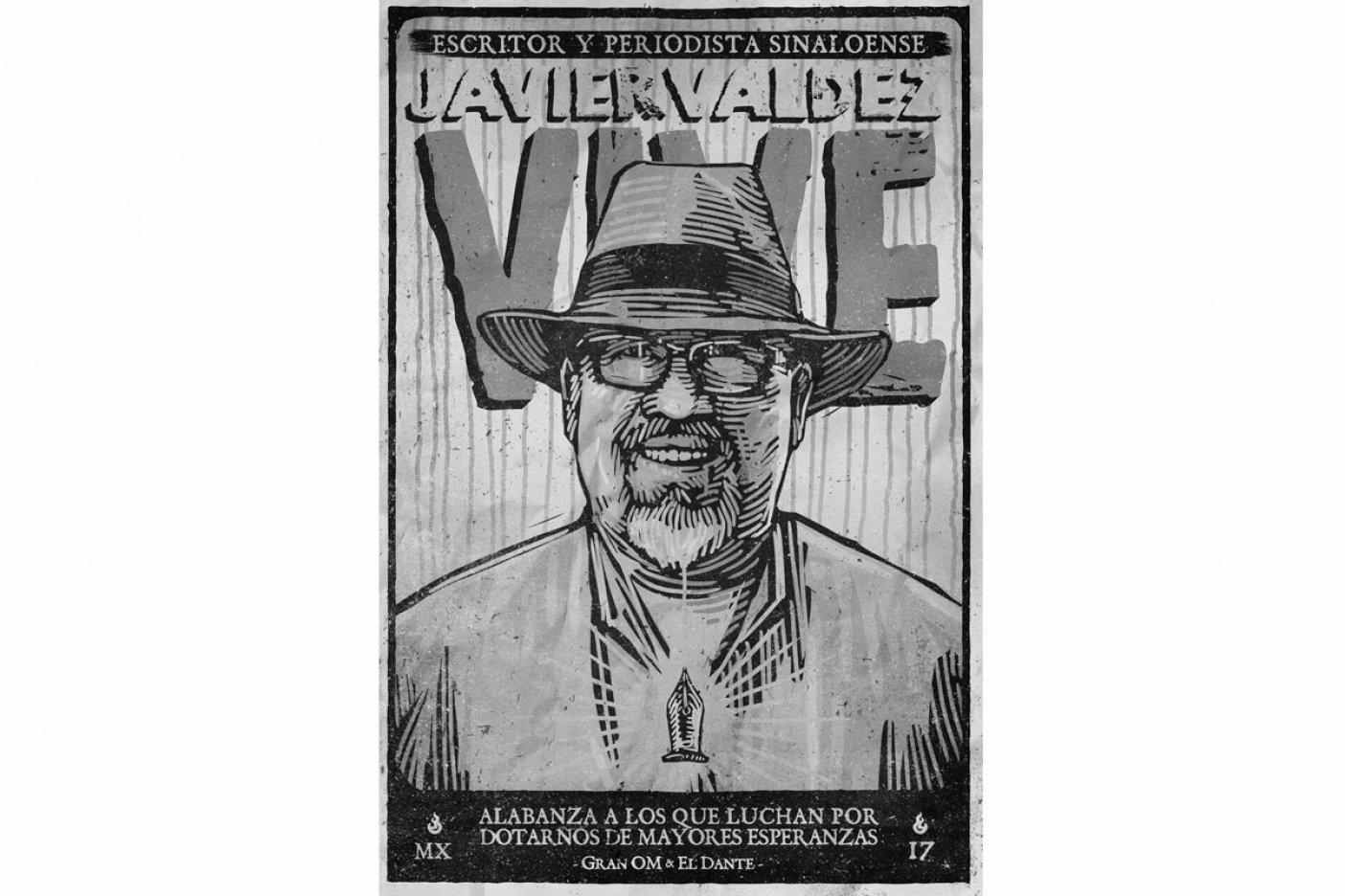 Pegarán carteles por Javier Valdez (Sinaloa)
