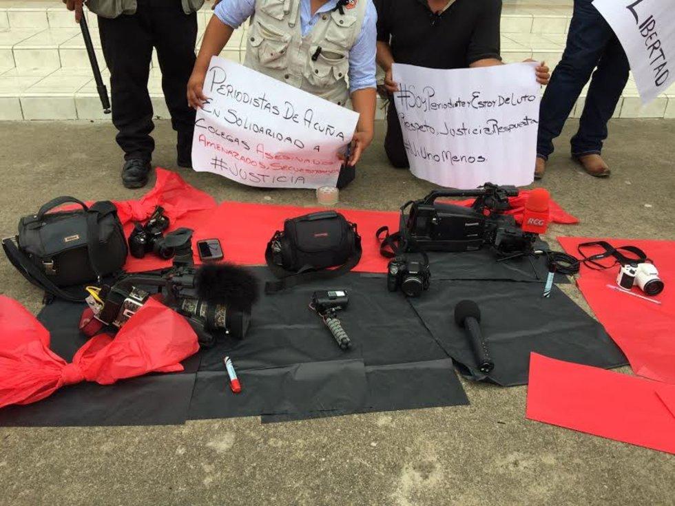 Periodistas del Norte de Coahuila se unen a los reclamos; exigen investigar y castigar a los responsables del asesinato de Javier Valdés