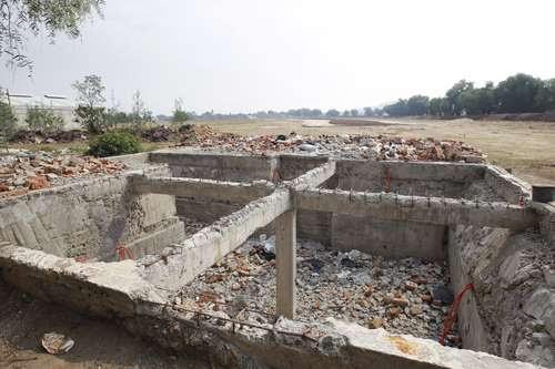 Las obras del nuevo aeropuerto devastan sus tierras y su patrimonio, acusan pobladores