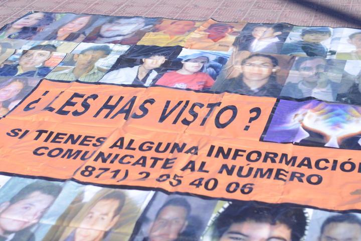 Registran al menos 30 menores desaparecidos en Coahuila
