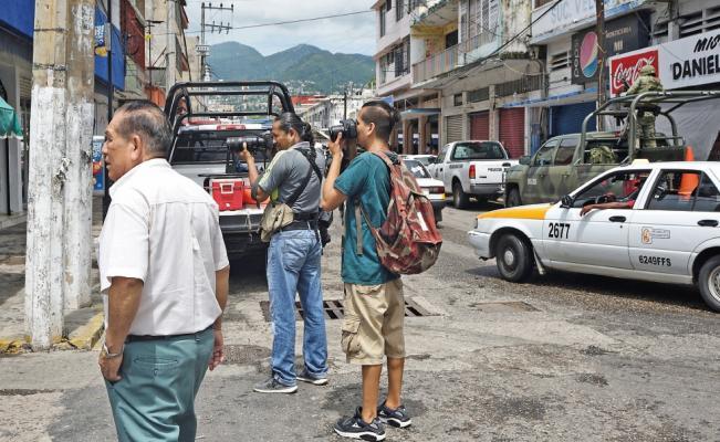Guerrero, territorio minado para periodistas