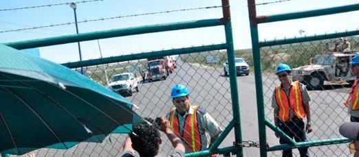 Derrumbe en mina de carbón en Coahuila; hay dos desaparecidos y dos heridos