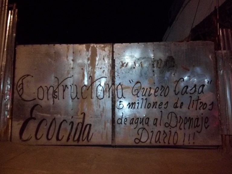 """Aztecas 215, dos años de resistencia contra el ecocidio de la inmobiliaria """"Quiero Casa"""""""