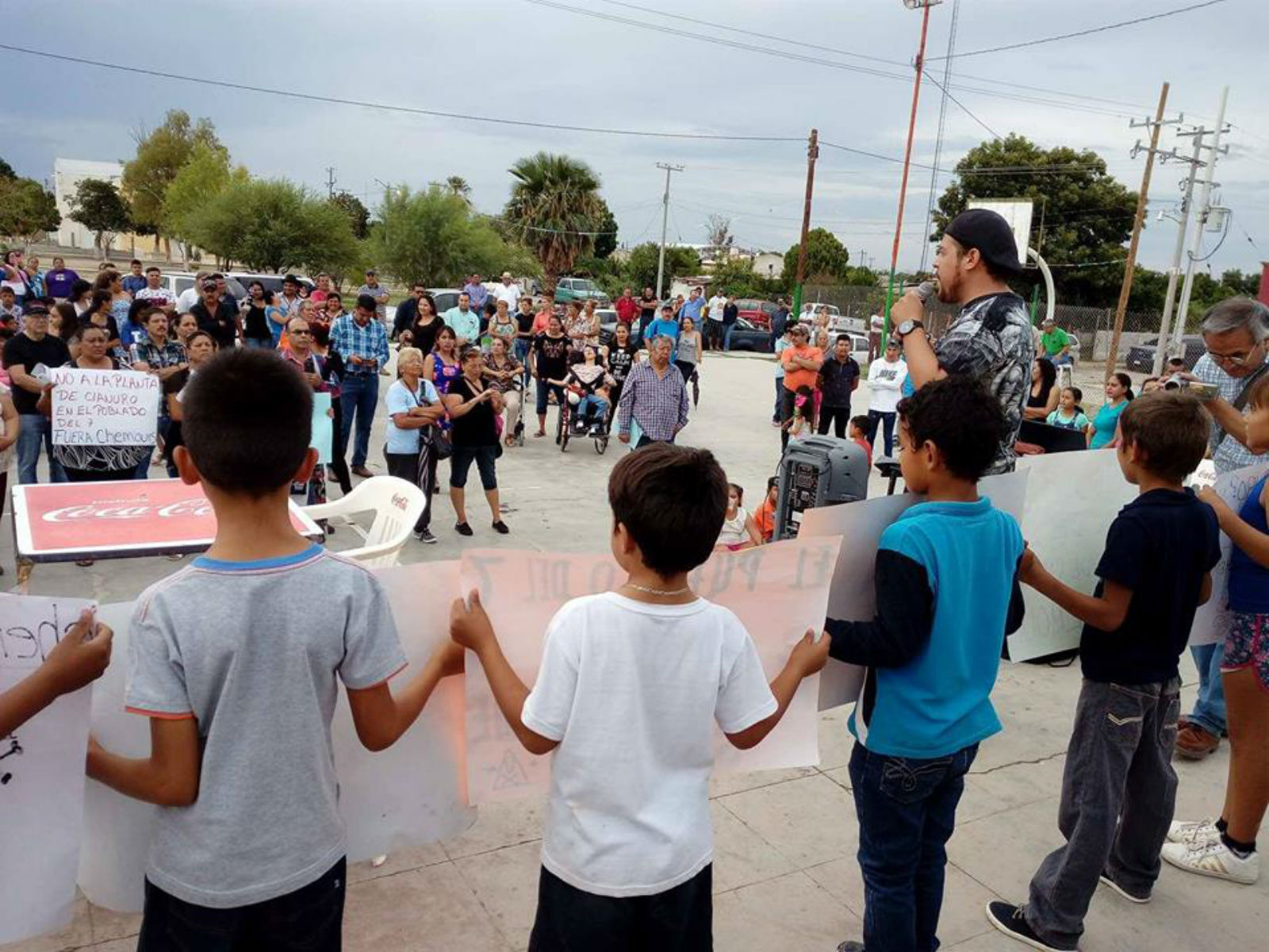 Lucha contra el cianuro de The Chemours Company se traslada a La Laguna (Durango)