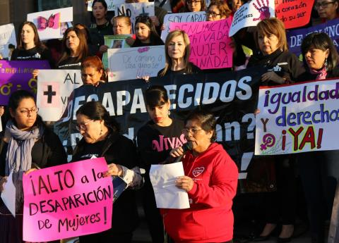 Mujeres de Nuevo León exigen igualdad y no más violencia