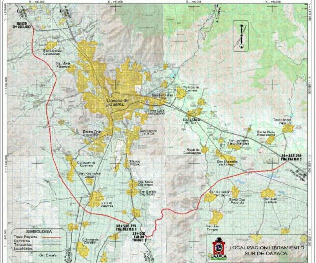 """Libramiento Sur de Oaxaca, campesinos de Zaachila afirman """"quieren quitarnos las tierras"""""""