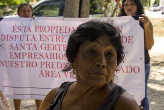 Santa Gertrudis Copó denuncia invasión y defiende pueblo maya (Yucatán)