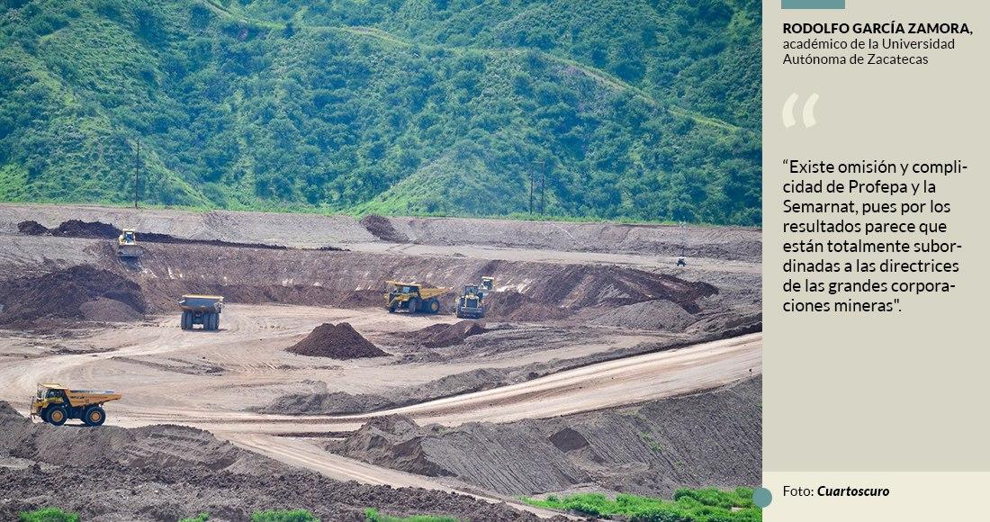 Mineras hacen con México lo que expresamente les prohiben en EU y Canadá: informe trinacional