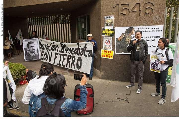 Detención de León Fierro, criminalización de la protesta en Mexicali: FLEPS (Baja California)
