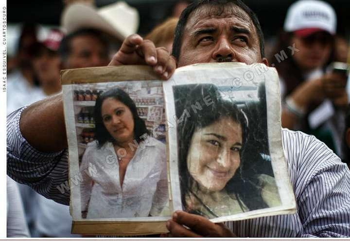 CNDH registra 5 mil 383 desapariciones de personas