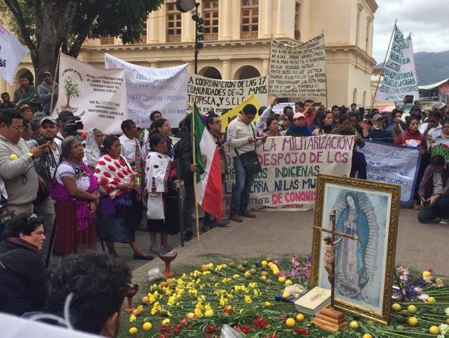 De los 15 defensores de derechos humanos asesinados en 2017, 13 eran indígenas que defendían su territorio (Oaxaca)