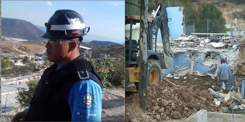 Minera destruye casas y esclaviza población en Zacatecas