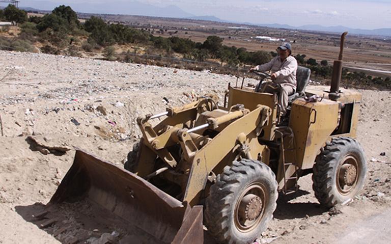 Denuncian que tiradero contamina el pozo de agua en Huamantla (Tlaxcala)
