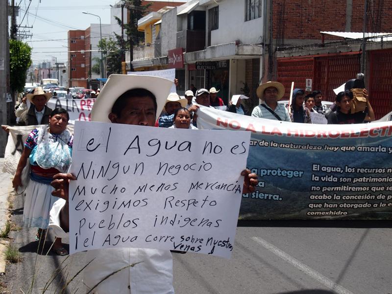 Hidroeléctricas y mineras amenazan a pueblos indígenas (Puebla)
