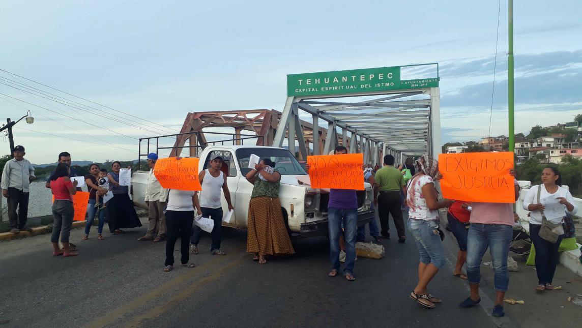Acusan despojo de tierras en San Blas Atempa, Oaxaca