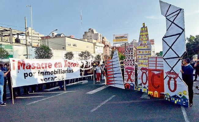 Lucha del pueblo de Xoco contra la especulación inmobiliaria y el despojo del territorio (Ciudad de México)