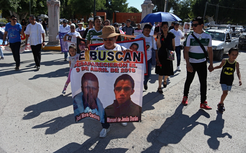 Coahuila cierra sexenio con 410 desapariciones
