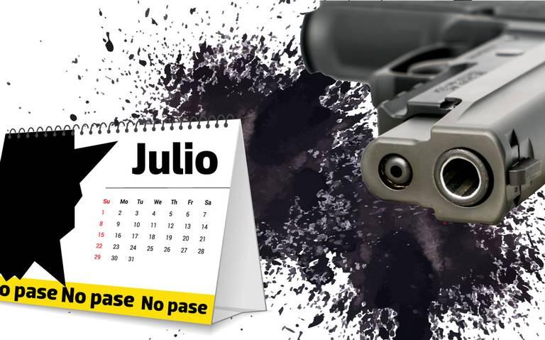 Julio, el mes más violento en Zacatecas