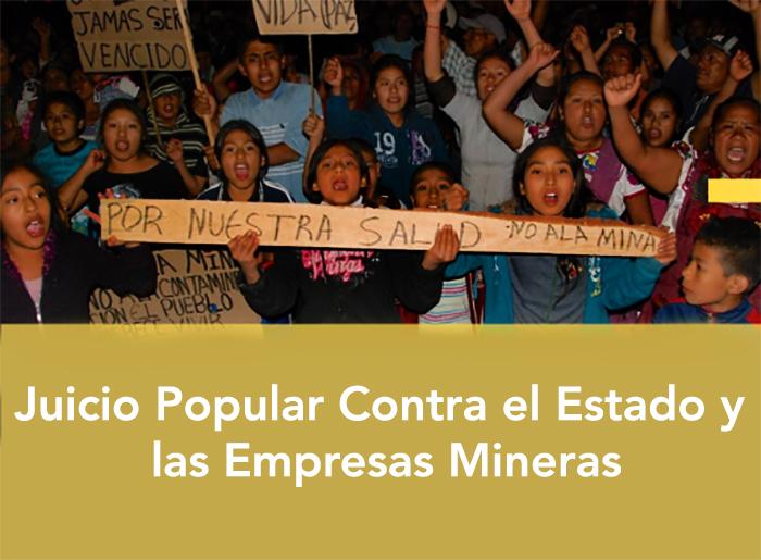 Pueblos de Oaxaca realizaran Juicio Popular contra el Estado y Empresas Mineras