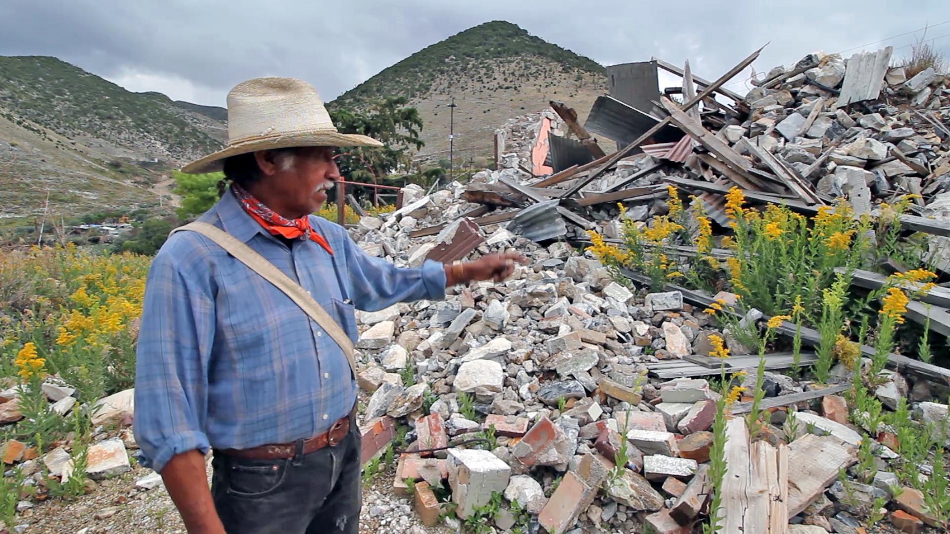 El campesino que lucha contra una minera de Carlos Slim para impedir la desaparición de su pueblo (Zacatecas)