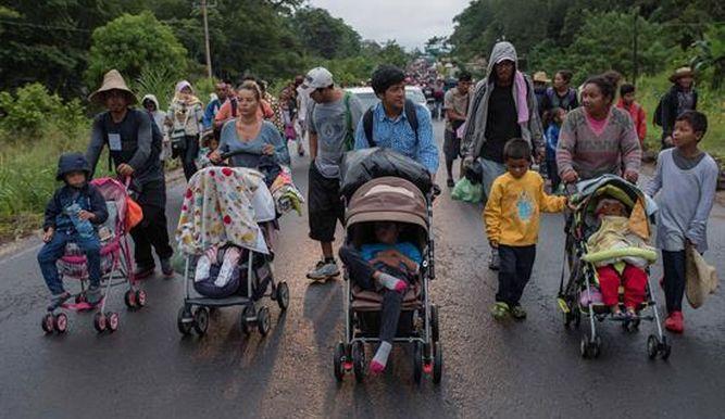 [Caravana migrante] En Veracruz, criminalizan la asistencia humanitaria al éxodo migrante
