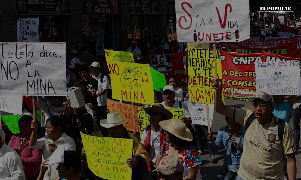 Divide Almaden Minerals a pobladores de Ixtacamaxtitlán (Puebla)