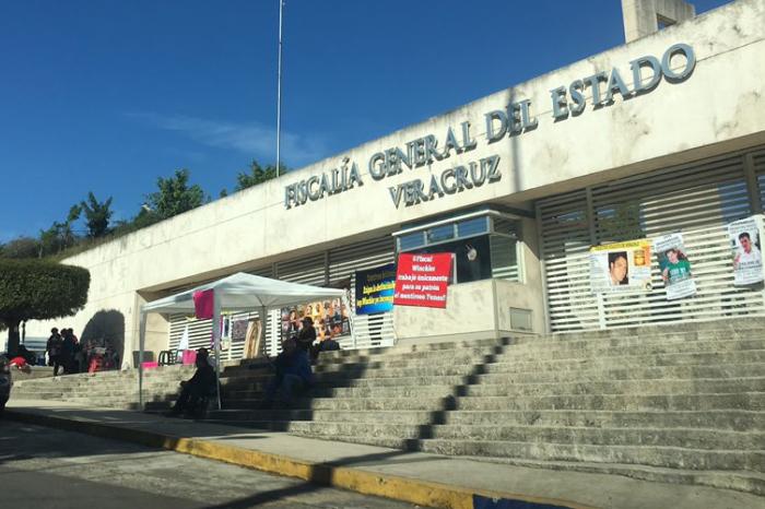 Familiares de desaparecidos terminan plantón en la Fiscalía de Veracruz
