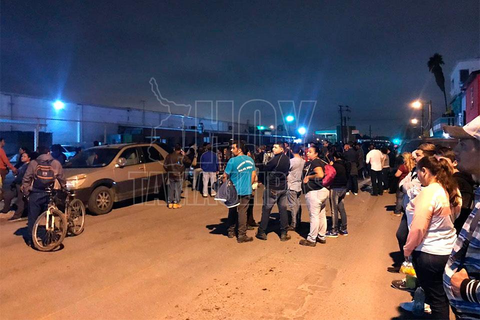 En Matamoros: Obreros presionan a compañeros para que abandonen sus áreas de trabajo (Tamaulipas)