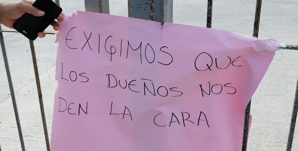 """Que """"por no tener dinero"""", maquiladora de Conkal """"no pagará a trabajadores"""" (Yucatán)"""