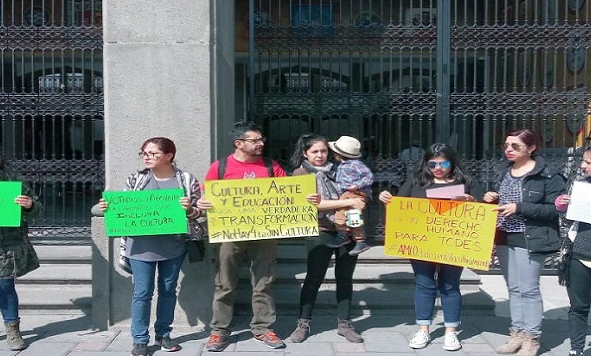 Rechaza comunidad artística recorte a presupuesto de cultura en Tlaxcala
