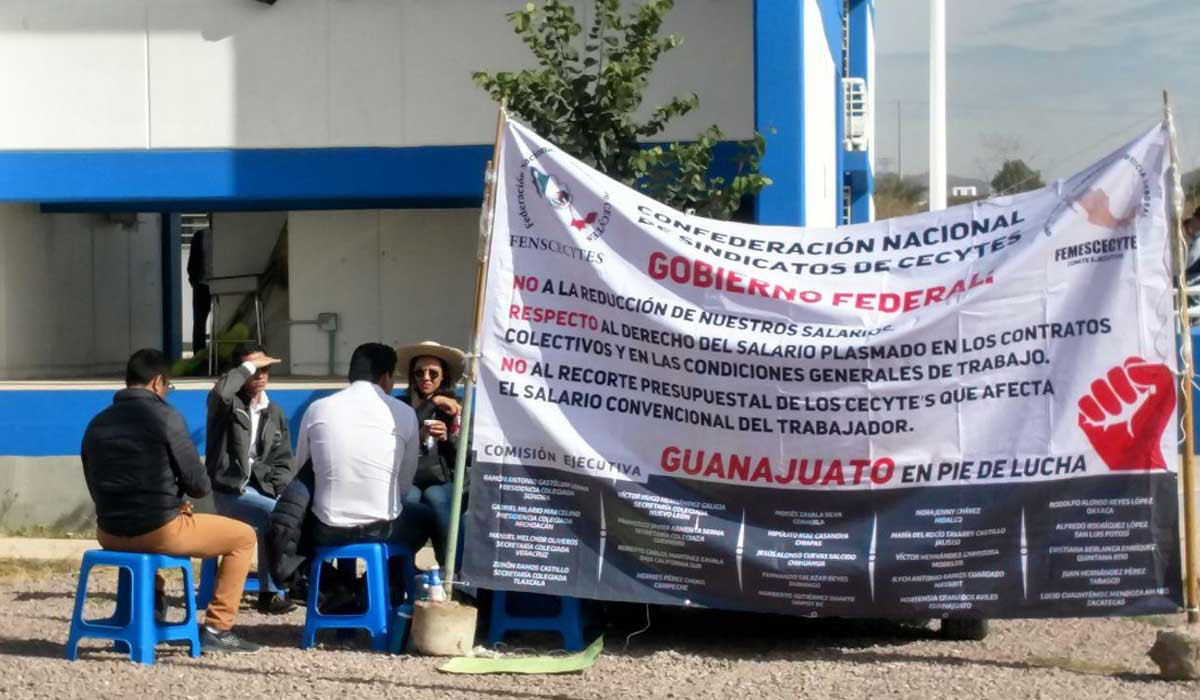 'Paran' los CECyTE de Guanajuato ante recorte del gobierno federal