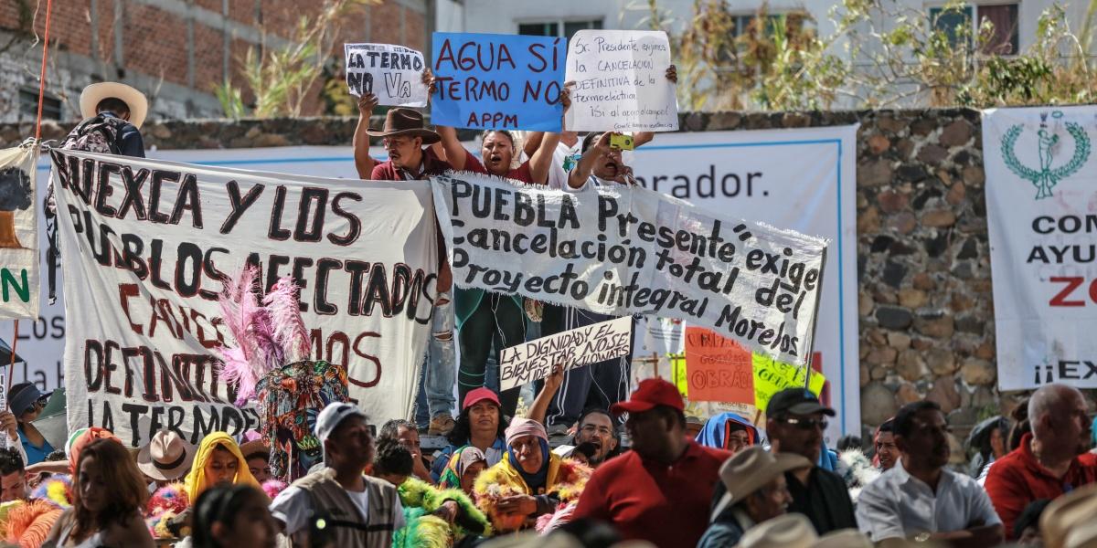 El presidente y los activistas: crónica de un desencuentro en Cuautla, Morelos