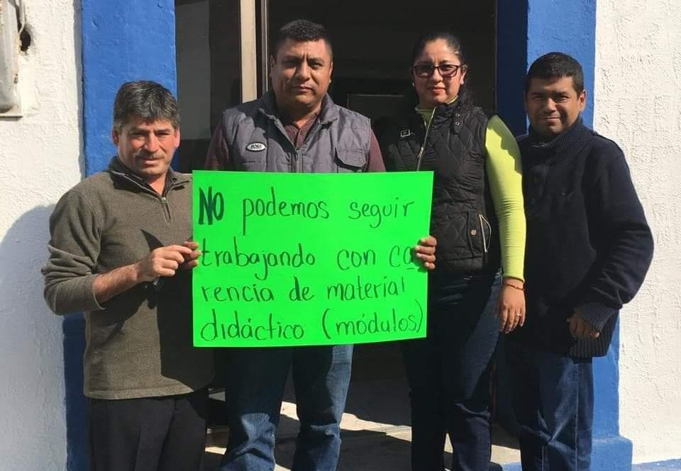Protestan en el ITEA; no les han pagado bono sexenal (Tamaulipas)