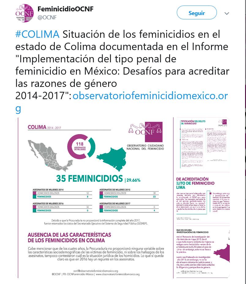 En Colima, jefe de la SSP aconseja a mujeres 'no deambular por las noches' para evitar agresiones