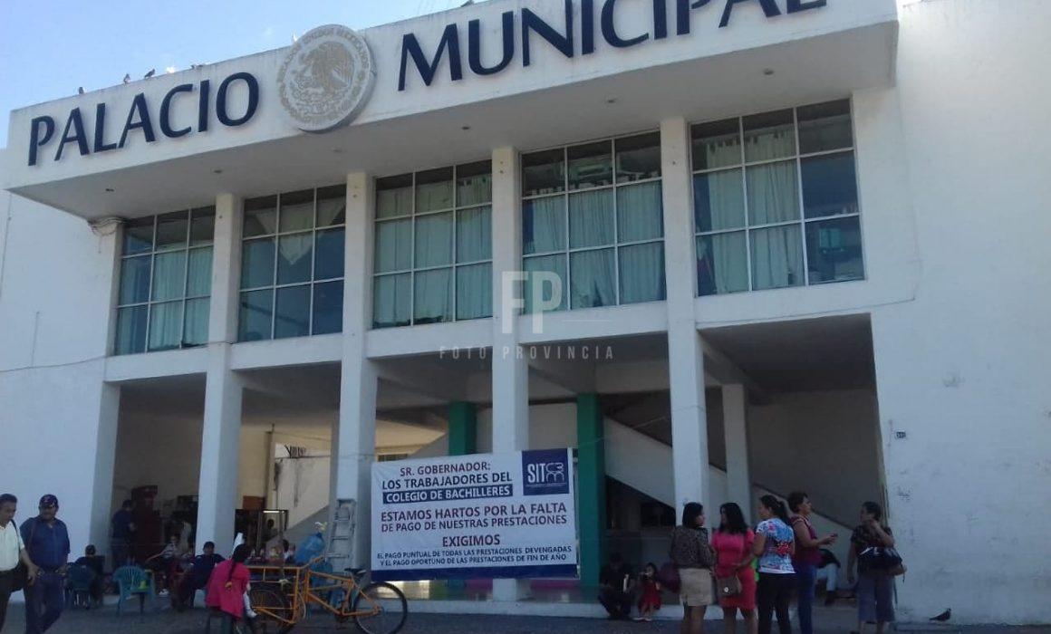 Planteles Cobaem de LC se suman a paro contra recortes al presupuesto (Lázaro Cárdenas, Michoacán)