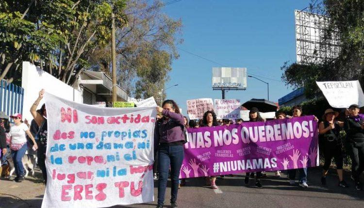 Mujeres exigen seguridad al gobierno de Cuauhtémoc Blanco, (Morelos)