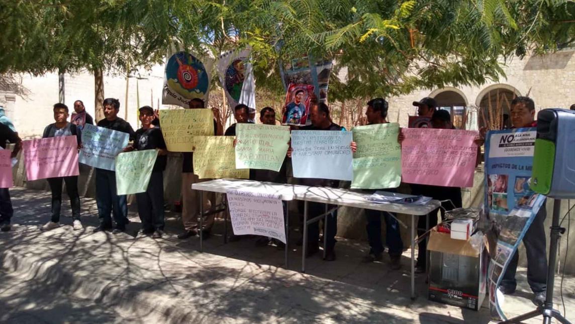 Denuncia comunidad indígena de Oaxaca a minera canadiense