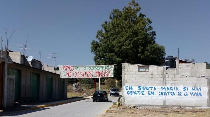 Habitantes de Ixtacamaxtitlán sabotean visita de Minera Gorrión (Puebla)