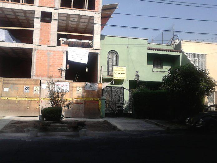 Continúan las construcciones a todo lo que da en alcaldía Benito Juárez (Ciudad de México)