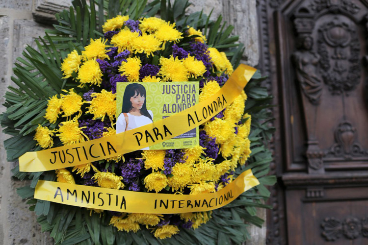 Exigen justicia por el feminicidio de Alondra (Jalisco)