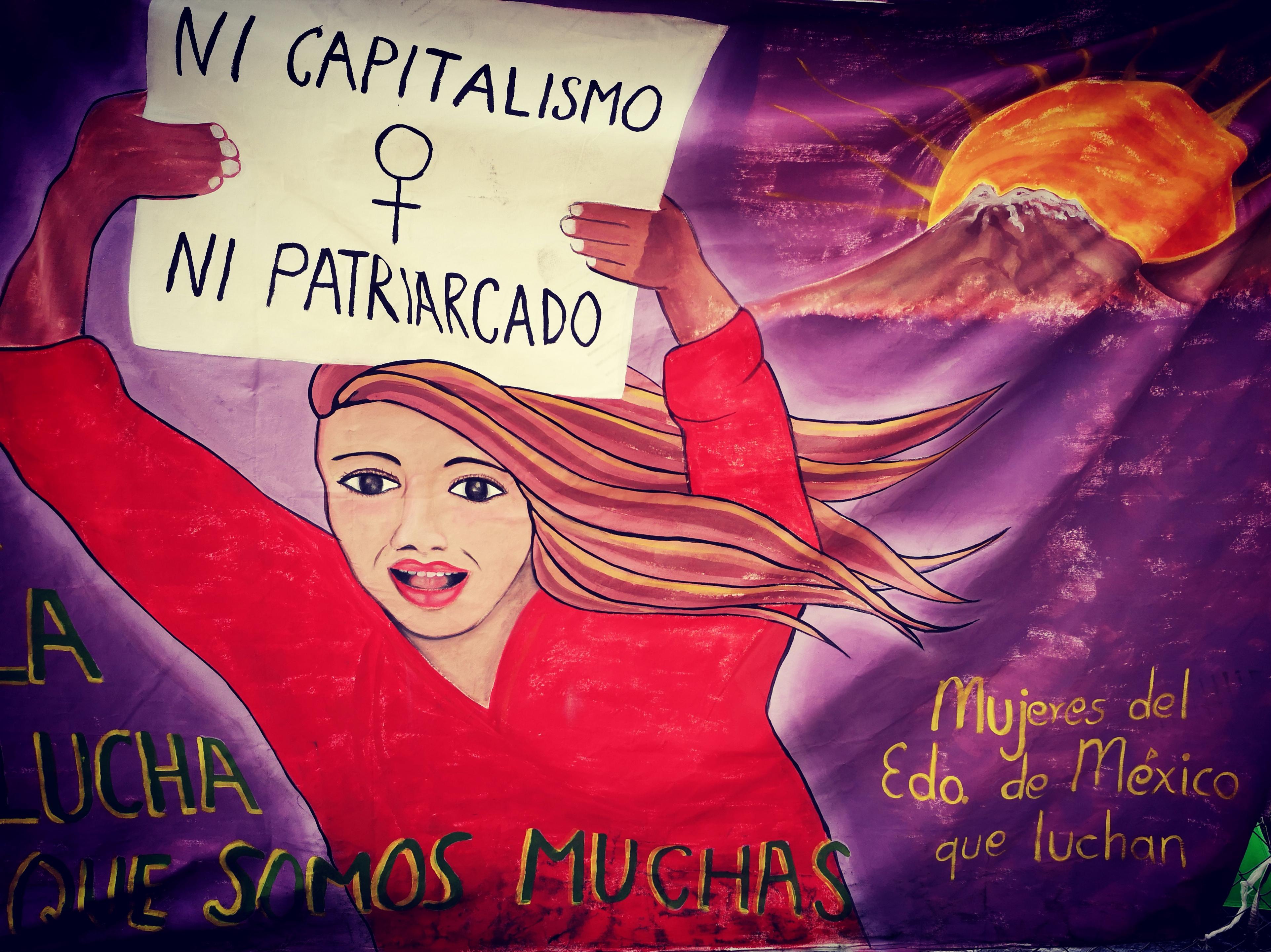 """""""Aquí está la luz que nos dieron"""": Encuentro Nacional e Internacional de mujeres que luchan (CDMX)"""