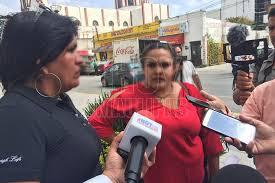 Protestan mujeres víctimas de la violencia en Palacio de Gobierno de Tamaulipas